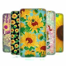 HEAD CASE GIRASOLE COVER MORBIDA IN GEL PER NOKIA LUMIA 625