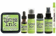 Tim Holtz Ranger Distress Color Of The Month MAY 2015 - TWISTED CITRON (Lime)