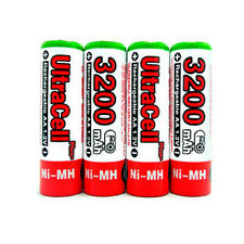 6 AA NiMH HR6 3200mAh Rechargeable Battery UltraCell R
