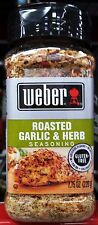 Weber Grill Creations Seasoning Spices Marinade Rub Value ~ One Bottle
