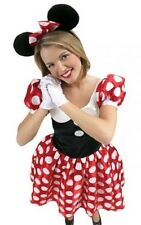 Adult Ladies Minnie Mouse Disney Licensed Fancy Dress Costume All Sizes