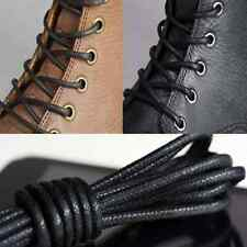 1x Waxed Round Shoe Laces Shoelace Bootlaces Leather Brogues multi color 27.6''