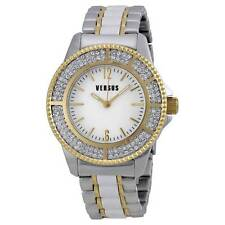 Ladies Versus by Versace Watch SH7090013 New Tokyo White Dial Tri-tone Womens
