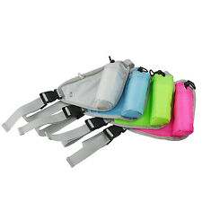 Mini Waterproof Waist Shoulder Bag Triangle Pouch Outdoor Sports Travel Bag