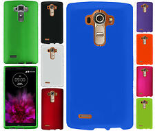 For LG G4 Rubberized HARD Protector Case Snap On Phone Cover +Screen Protector