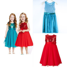 Kid Baby Girl Princess Sequins Tulle Lace Tutu Party Evening Dress Skirt Clothes