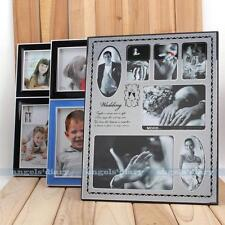 Silver White Multi Image Mom Baby Family Aperture Photo Picture Frame Wall Decor