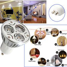 3W GU10 85~265V LED Spotlight Bulb Spot Down Lamp Energy Saving Warm/Cool White