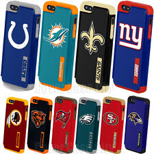 Official NFL Impact Dual Hard Cover for Apple iPhone 5 5S Protective Fan Case