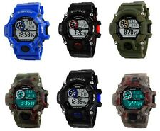 Fashion Army Military LED Date Digital Swim Diver Waterproof Sport Mens Watch