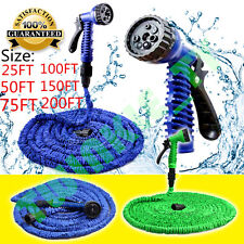 NEW GARDEN EXPANDING HOSEPIPE EXPANDABLE HOSE PIPE  NON KINK FLEXIBLE SPRAY GUN