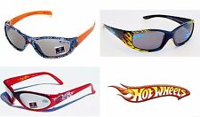 HOT WHEELS MATTEL Boys 100% UV Shatter Resistant Wrap-Style Sunglasses NWT  $12