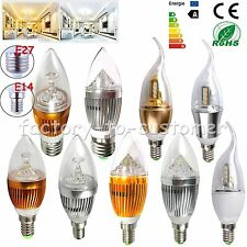 Dimmable 9W 12W E14 E27 E26 LED Candle Light Warm Cool White Lamp Ceiling Bulb