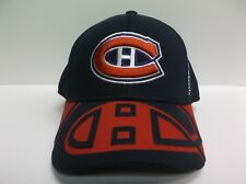Montreal Canadiens Reebok 2015 Official NHL Draft Cap Stretch Fit Fitted Hat