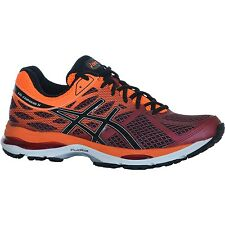 Asics Gel Cumulus 17 Herren Laufschuhe Running Schuhe Deep Ruby/Onyx/Hot Orange