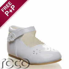 Baby Girl White Shoes, Christening Shoes, Flower Girl Shoes, Kids Shows