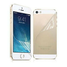 Front & Back Clear Full Body Screen Protector Film For Apple iPhone 5 5S 5G Lot