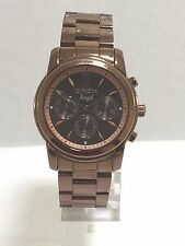 Ladies Invicta 12510 Brown Plated Stainless Angel Brown Chronograph Dial Watch