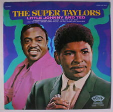 LITTLE JOHNNY & TED TAYLOR: The Super Taylors LP (v. sl cw) Soul