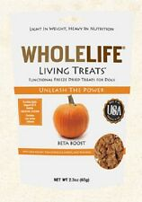 WholeLife Beta Boost Living Treats PUMPKIN Dog Treats 2.3 oz Freeze Dried