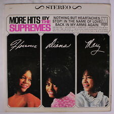 SUPREMES: More Hits By The Supremes LP (corner ding, slight cover wear, disc se