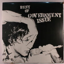 GOVERNMENT ISSUE: Best Of Government Issue LP Sealed Punk/New Wave