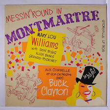 MARY LOU WILLIAMS / BUCK CLAYTON: Messin' 'round In Montmartre LP rare Jazz