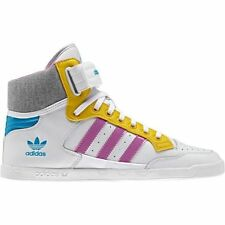 adidas Originals Centenia Hi Women's High Top Trainers Sneakers White Leather