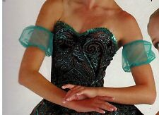 NWT Tulle Ballet poof sleeves 2 layer one size dance accessory