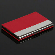 New Men Pocket Business Name ID Credit Card Holder Wallet Case Holder Box USTB