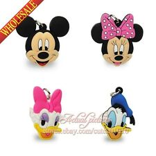 4PCS Lovely Mickey Minnie Pendants Charms for Keychains & necklace & Bracelets