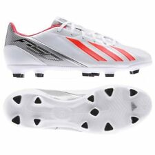 Adidas F10 TRX FG White Performance Mens Football Moulded Studs Boots