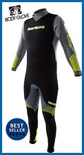NEW! Body Glove Voyager Wetsuit 7mm Men's SCUBA DIVING Full Wetsuit Gray Lime