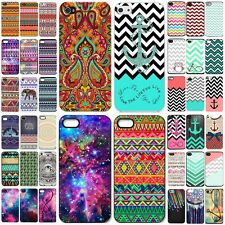 New pattern Hard Skin plastic Case Cover Back Protector For iPhone  6 5s 5c 4 CA