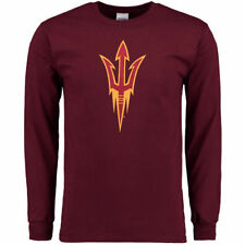 Arizona State Sun Devils Core Logo Too Long Sleeve T-Shirt - Maroon - College