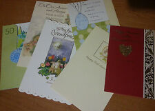 New Anniversary Greeting Cards & matching envelopes Wedding Our Your Relative