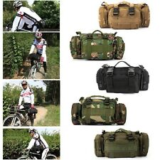 Outdoor Tactical Military Waist Pack Shoulder Bag Molle Camping Hiking Pouch Bag