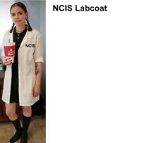 NCIS ABBY LAB COAT High Quality Real Medical Coat Not Costume Fake Halloween