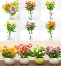 1PC DIY Home Artificial Fake Silk Daisy Flower Bouquet Wedding Party Decoration