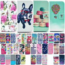 For Samsung Galaxy S6 edge S6 S5 Fashion Pattern Wallet Stand Leather Cover Case
