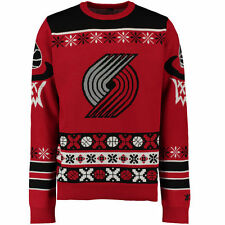 Portland Trail Blazers Klew Thematic Ugly Sweater - Red