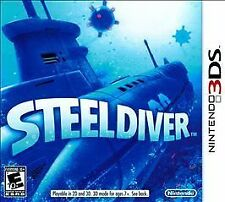 **STEEL DIVER** (Nintendo 3DS/new 3DS)   NEW, SEALED!!  FREE SHIPPING!