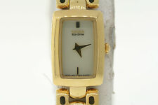Ladies Citizen EG2902-53P Eco-Drive Gold-Tone Stainless Steel Gold Dial Watch