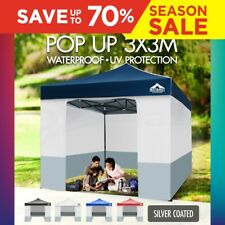 3X3 GAZEBO POP UP FOLDING PARTY TENT EVENT MARQUEE OUTDOOR CANOPY CAMPING BEACH