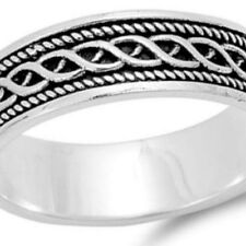 Sterling Silver wedding band ring Celtic Love Knot Infinity size 5-14 New p54
