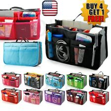 Women Lady Travel Insert Handbag Organiser Purse Large Liner Organizer Tidy Bag