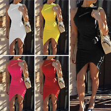 Fashion Sexy Women's Summer Casual Office Lady Party Evening Cocktail Mini Dress