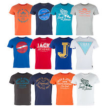 Jack & Jones Mens T-Shirts - Short Sleeves - Various colours