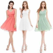 US Womens Bridesmaid Dress Short Homecoming Party Prom Dress 03909 Ever Pretty