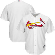St. Louis Cardinals Majestic Big & Tall Cool Base Team Jersey - White - MLB